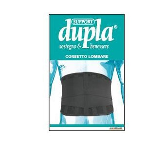 CORSETTO LOMBARE DUPLA SUPPORT 4