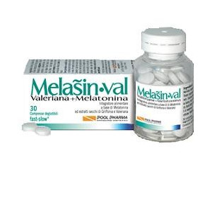 MELASIN VAL 1 MG 30 COMPRESSE 220 MG