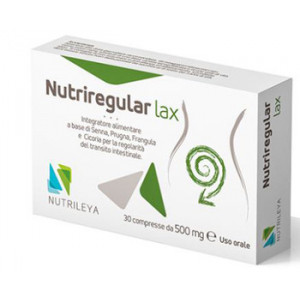 NUTRIREGULAR LAX 30 COMPRESSE