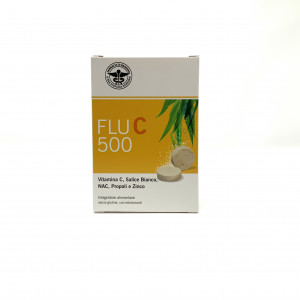 FLU C 500 20 COMPRESSE EFFERVESCENTI  FARMACISTI PREPARATORI