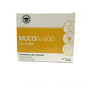 MUCOFLU 600 COMPLEX 10 BUSTINE FARMACISTI PREPARATORI