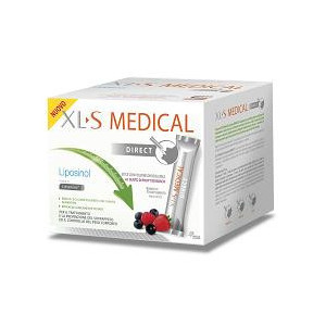 XLS XL-S MEDICAL LIPOSINOL DIRECT 90 BUSTINE STICK PACK 2,6 G