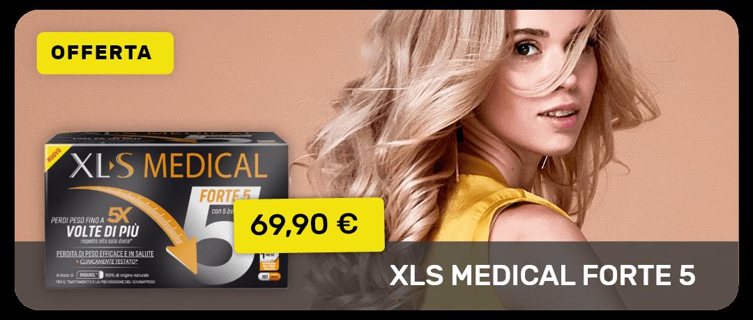 XL-S Medical Forte 5 in offerta a 69,90€ solo fino al 16 giugno