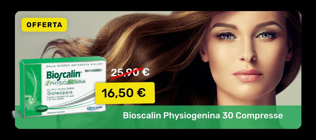 Bioscalin Physiogenina 30 Compresse: in offerta al prezzo di 16,50€