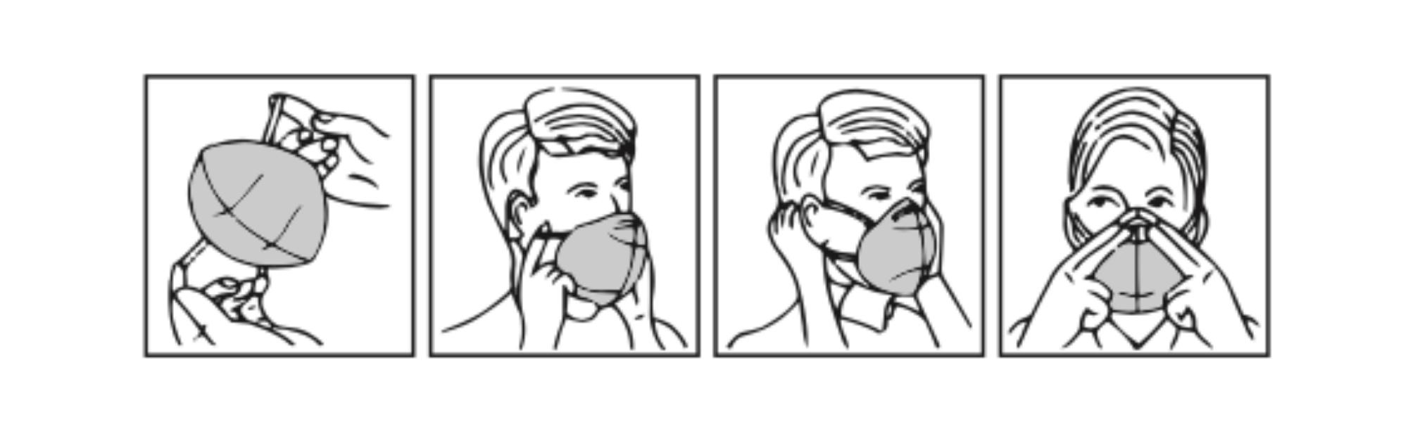 Come Indossare una Mascherina FFP2