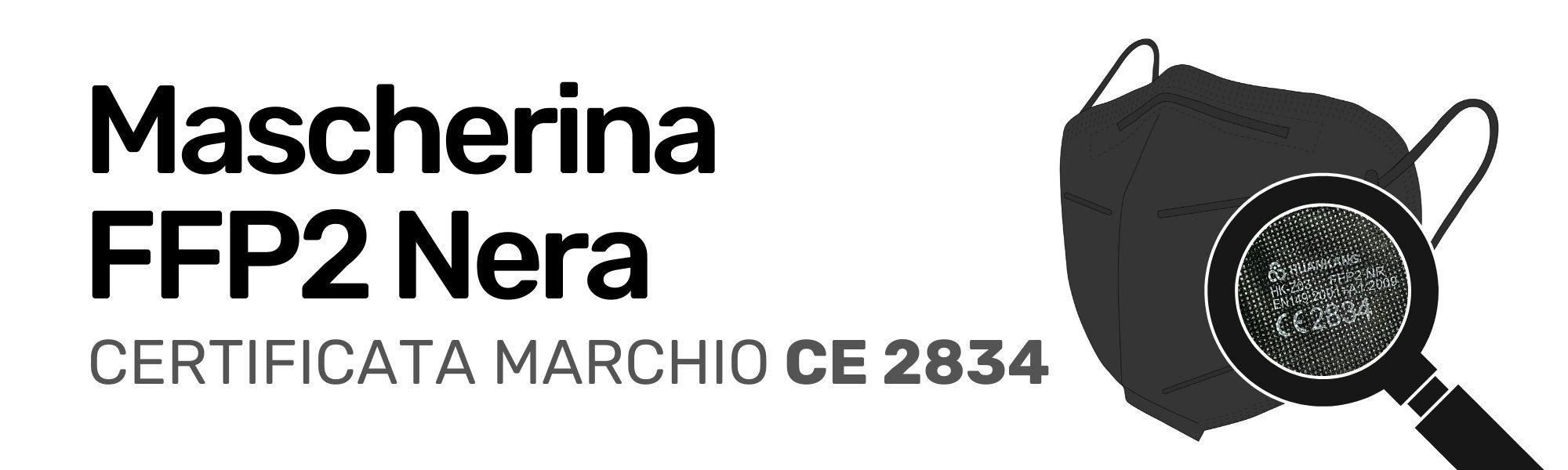 Mascherina FFP2 Certificata CE 2834