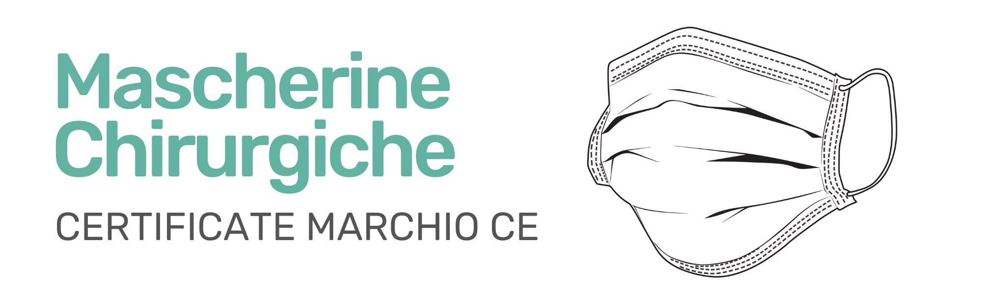Mascherine Chirurgiche Marchio CE