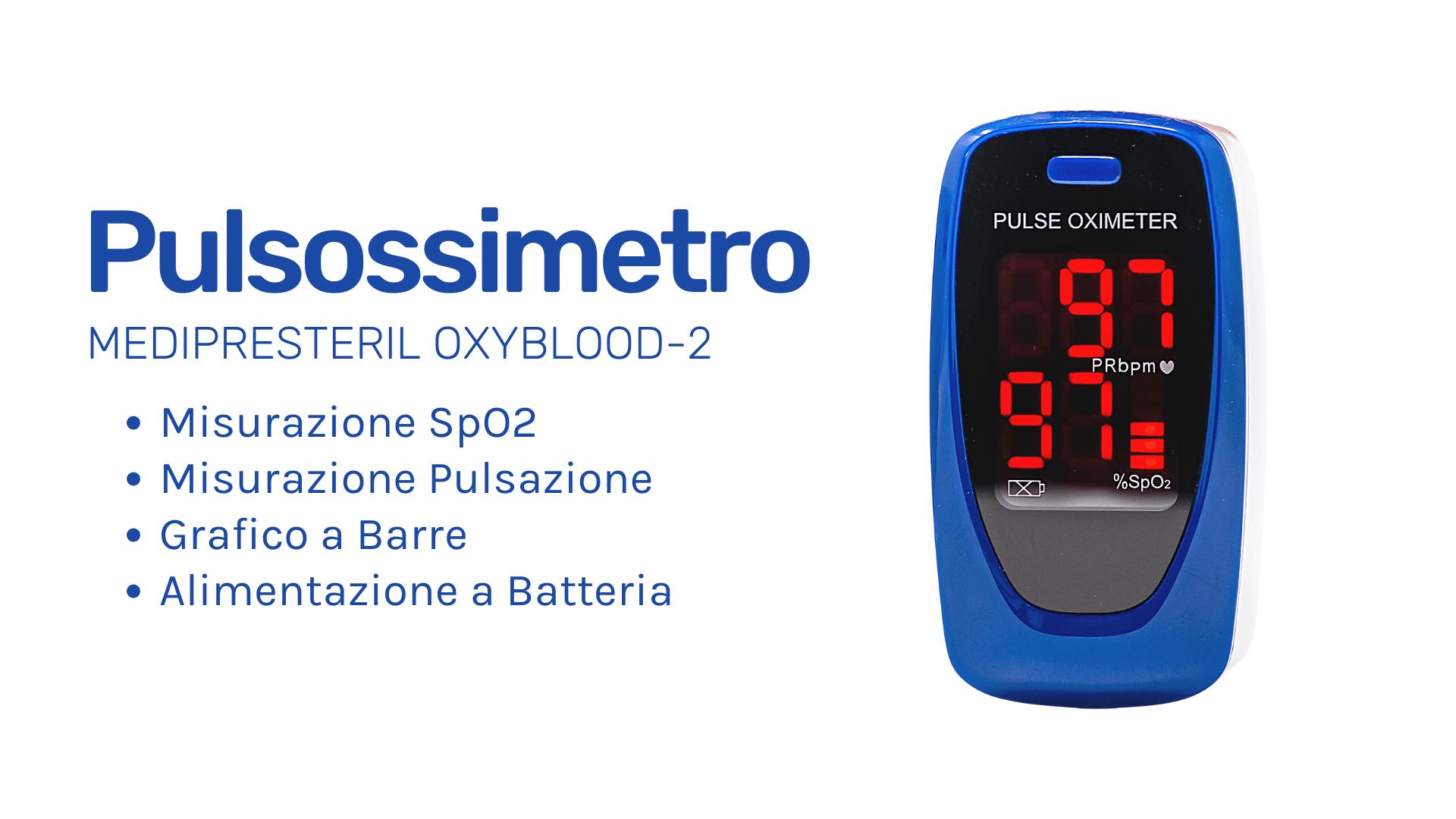 Pulsossimetro Medipresteril OxyBlood-2
